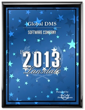 Global DMS Receives Local Business Award