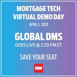 Check Out Global DMS' EVO Appraisal Management Software during HousingWire's Mortgage Tech Virtual Demo Day
