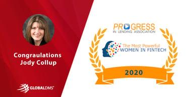 Global DMS COO Jody Collup Earns 2020 Most Powerful Women in Fintech Award