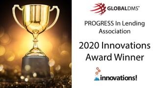 "PROGRESS in Lending Selects Global DMS for its ""Innovations Award"" for EVO Appraisal Management Software"